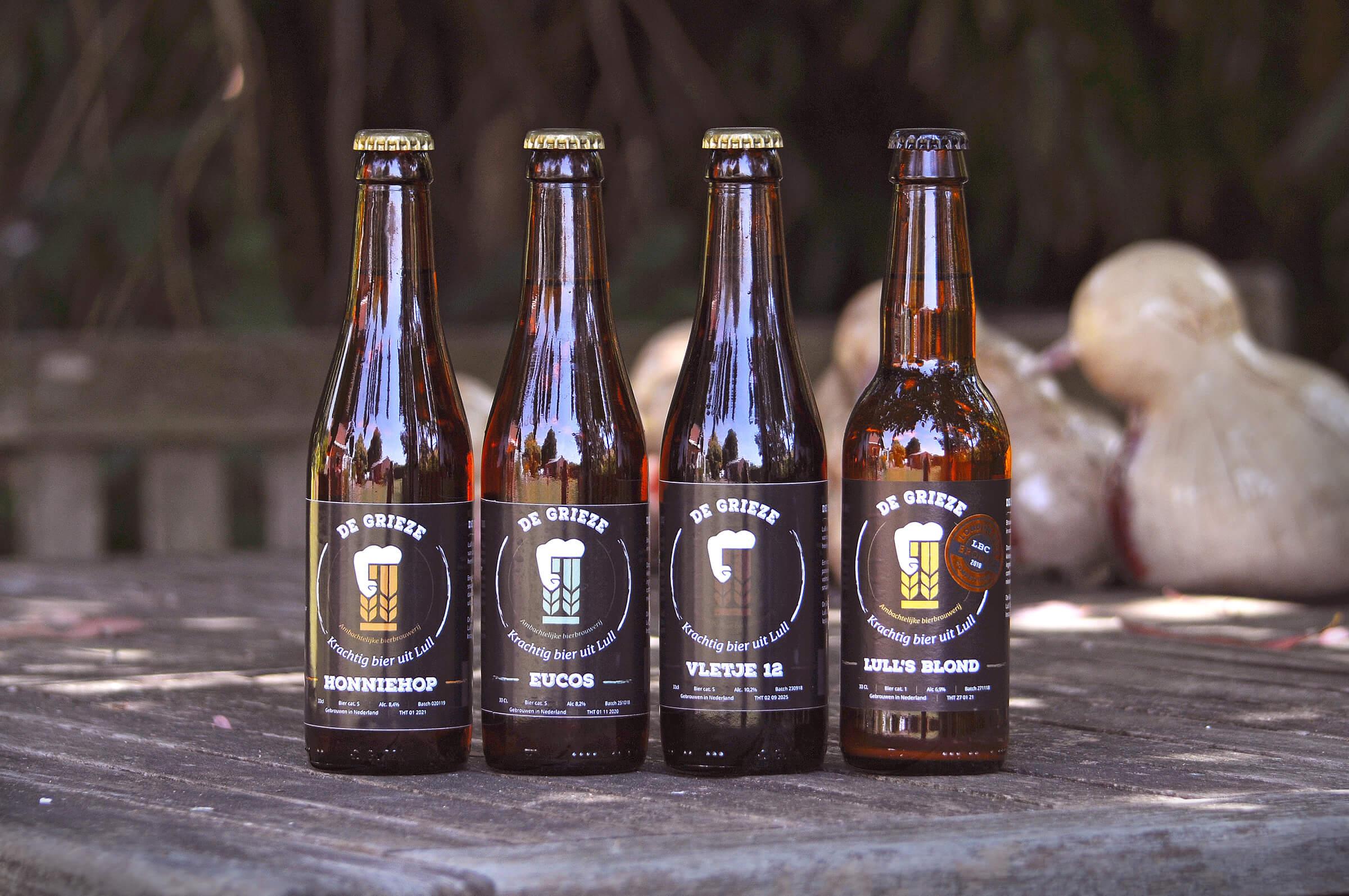 Brouwerij De Grieze rijtje